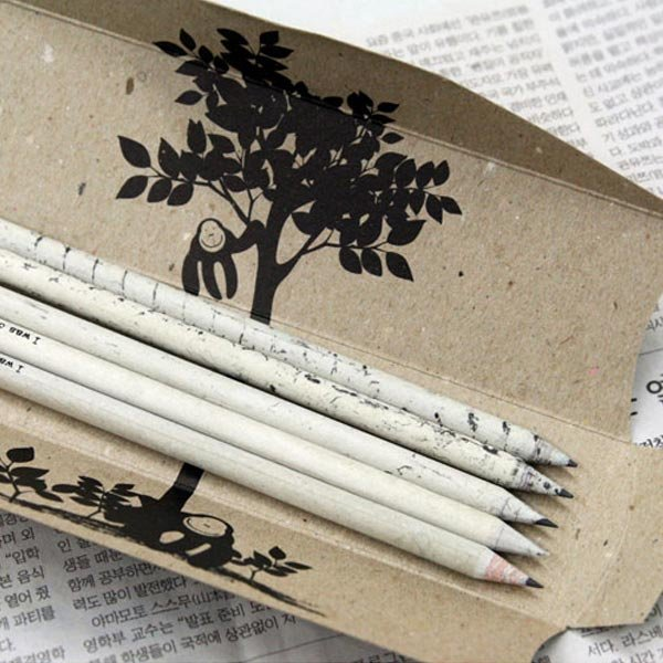 Recycled News HB Pencils