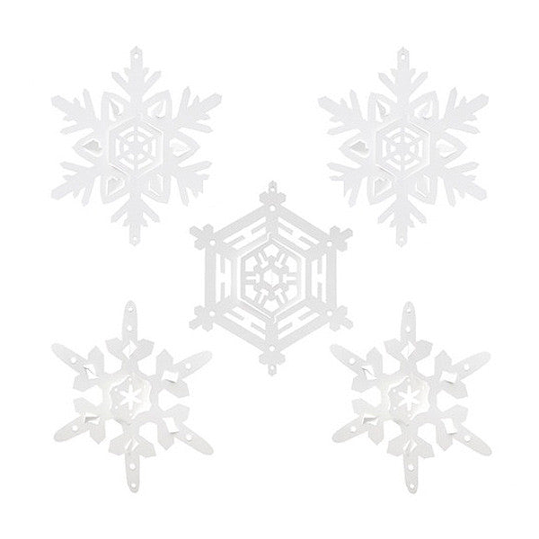 'Let it Snow' Snowflakes (15pk)