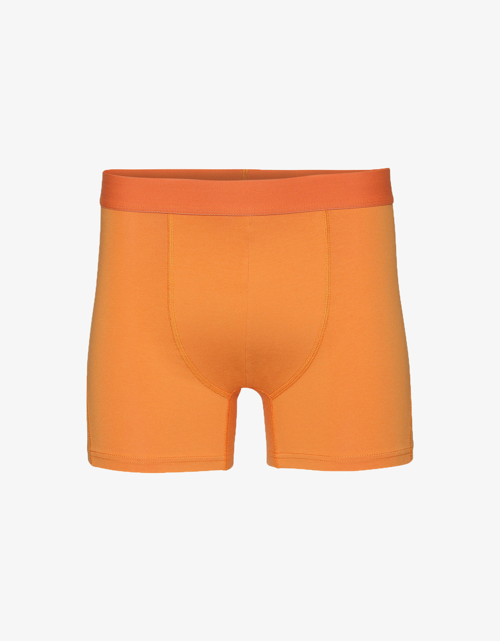 Colorful Standard Classic Organic Boxer Briefs Underwear Sunny Orange
