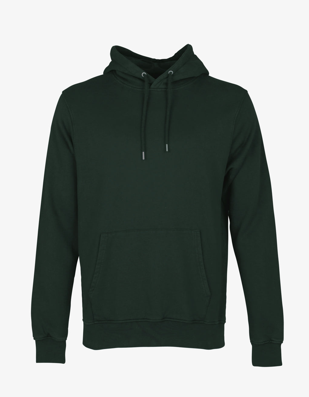 Colorful Standard Classic Organic Hood Hoodie Hunter Green