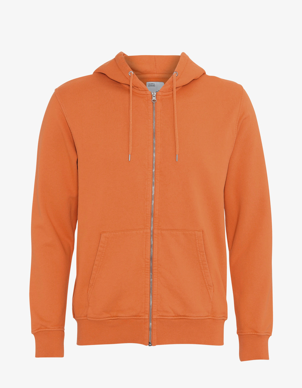 Colorful Standard Classic Organic Zip Hood Zip Hoodie Burned Orange
