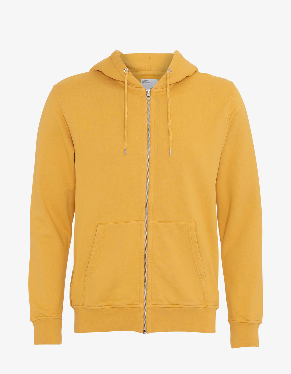 Colorful Standard Classic Organic Zip Hood Zip Hoodie Burned Yellow