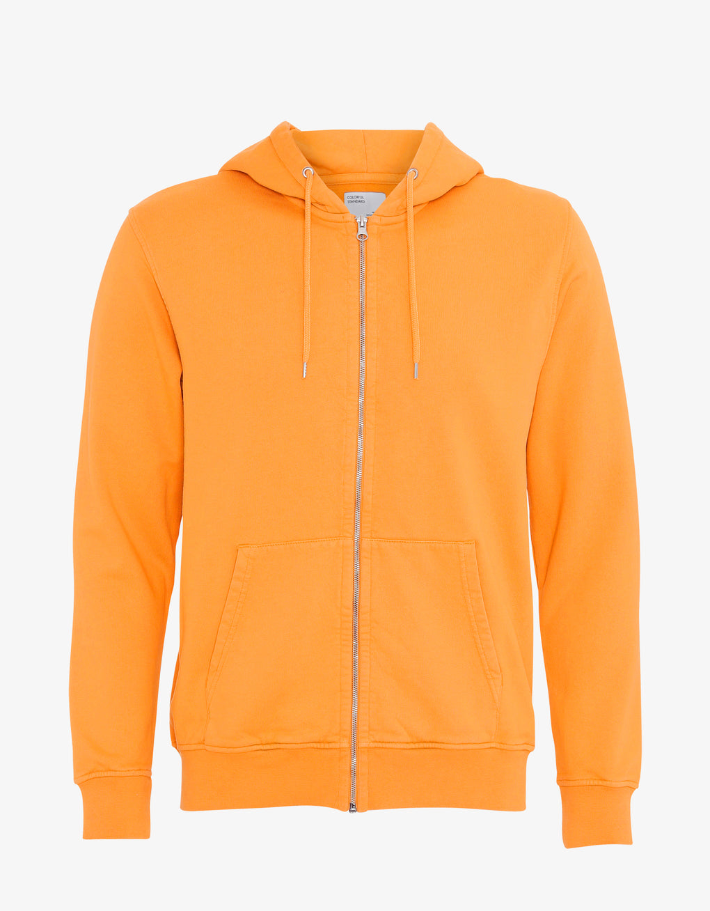 Colorful Standard Classic Organic Zip Hood Zip Hoodie Sunny Orange