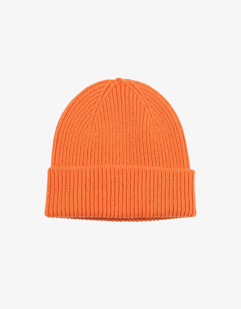 Colorful Standard Merino Wool Beanie Beanie Burned Orange