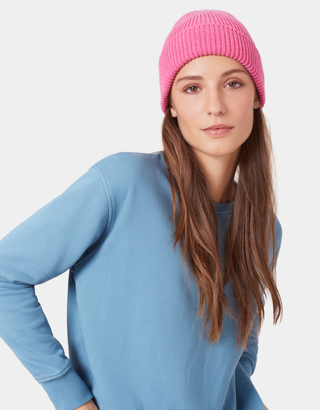 Colorful Standard Merino Wool Beanie Beanie Navy Blue
