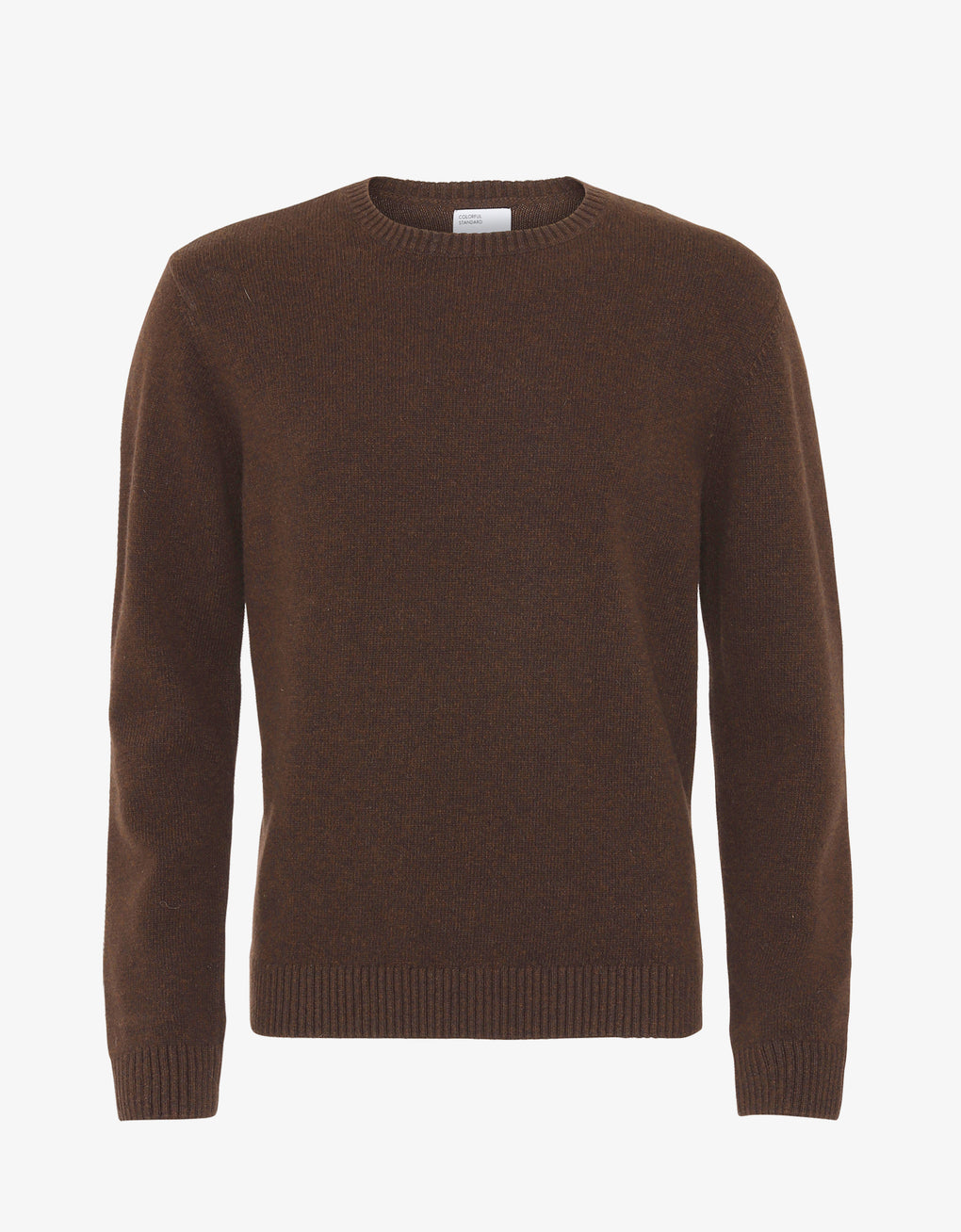 Colorful Standard Merino Wool Crew Merino Crewneck Coffee Brown