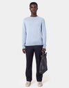 Colorful Standard Merino Wool Crew Merino Crewneck Polar Blue