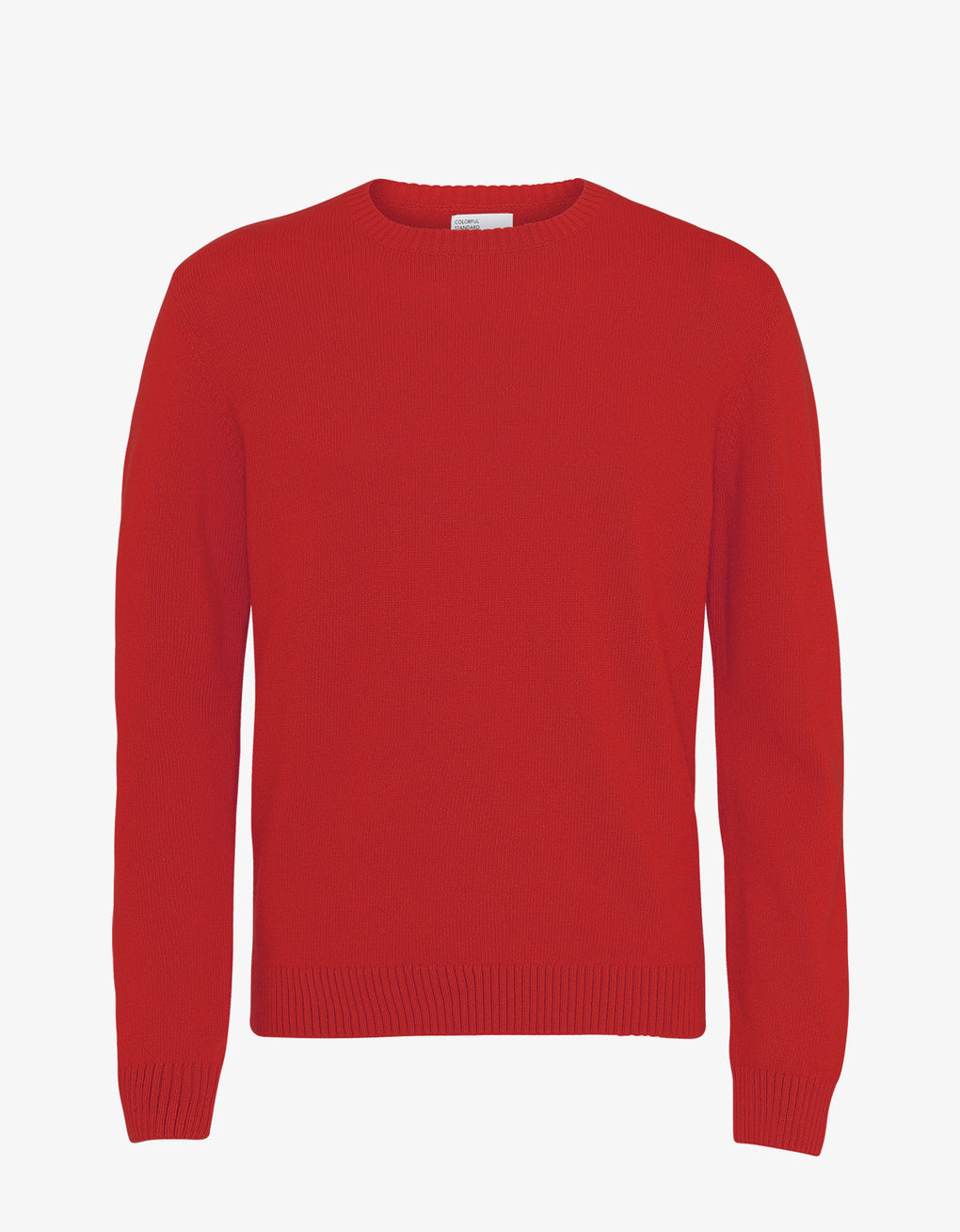 Colorful Standard Merino Wool Crew Merino Crewneck Scarlet Red