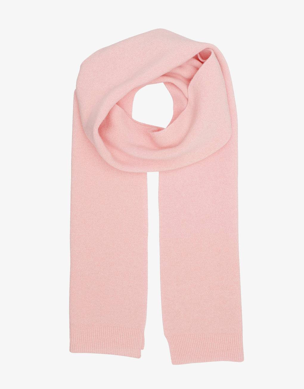 Colorful Standard Merino Wool Scarf Scarf Faded Pink