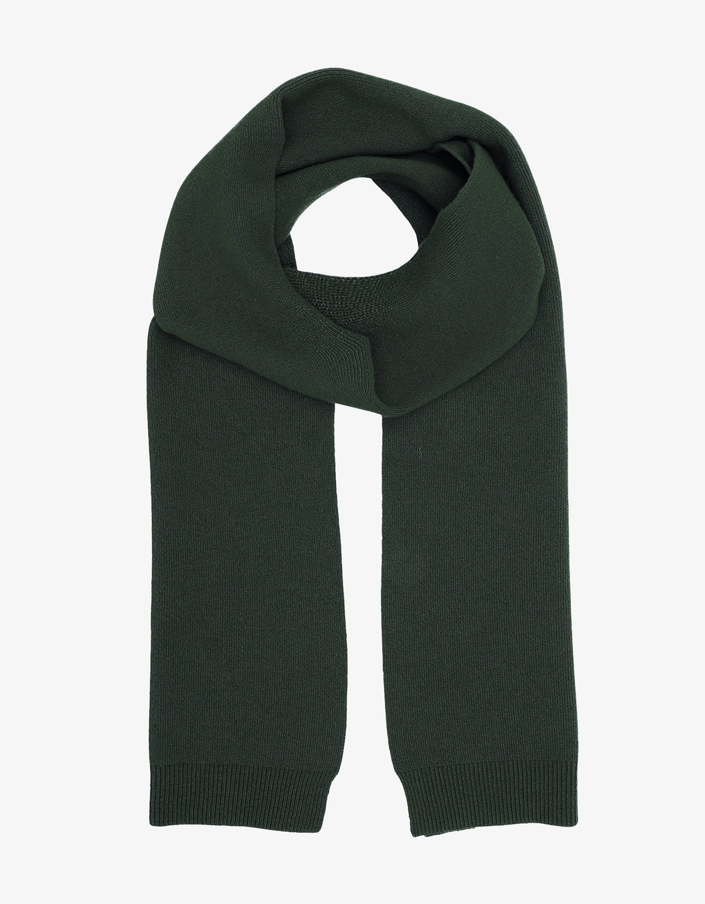 Colorful Standard Merino Wool Scarf Scarf Hunter Green