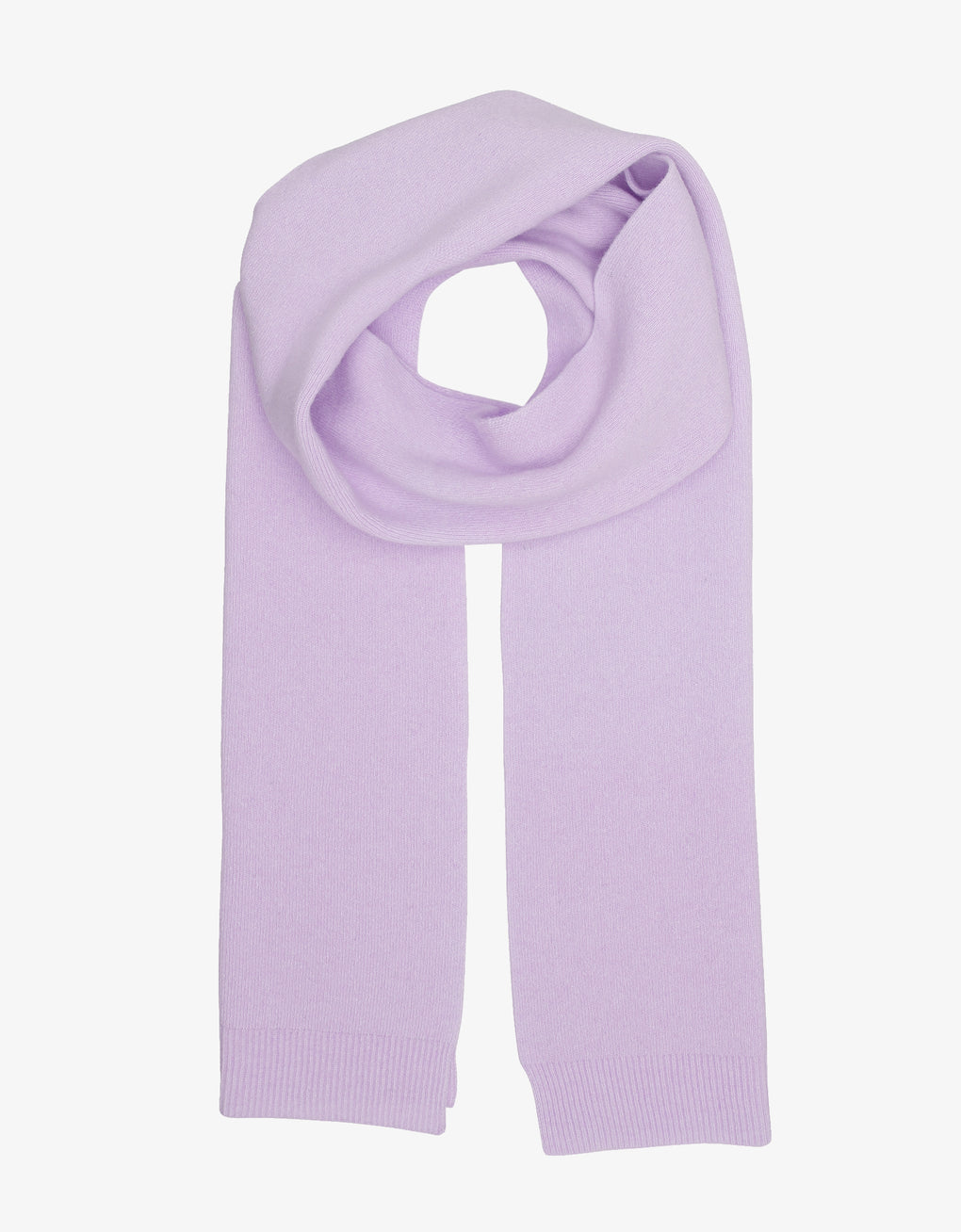 Colorful Standard Merino Wool Scarf Scarf Soft Lavender