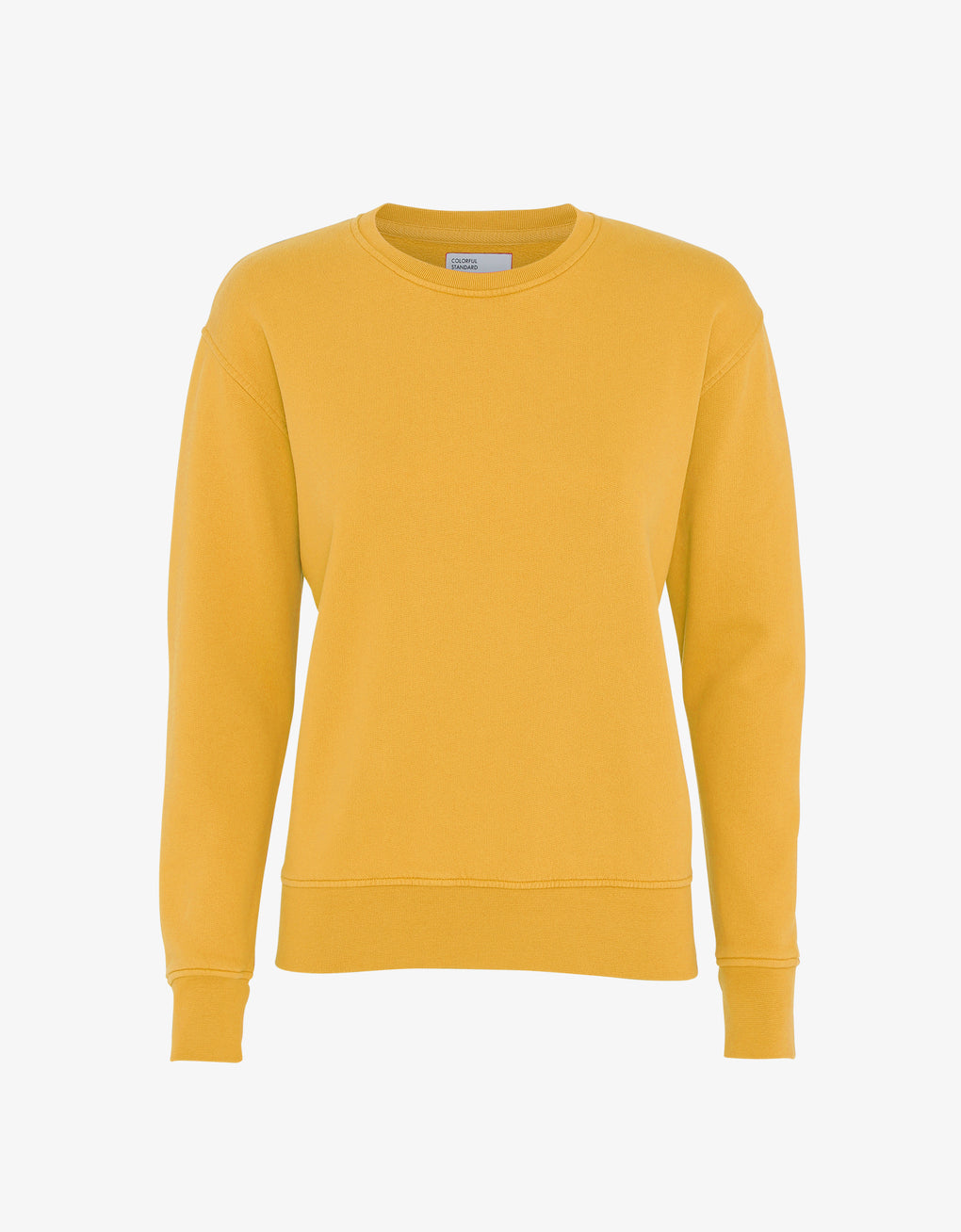 Colorful Standard Women Classic Organic Crew Women Crewneck Burned Yellow