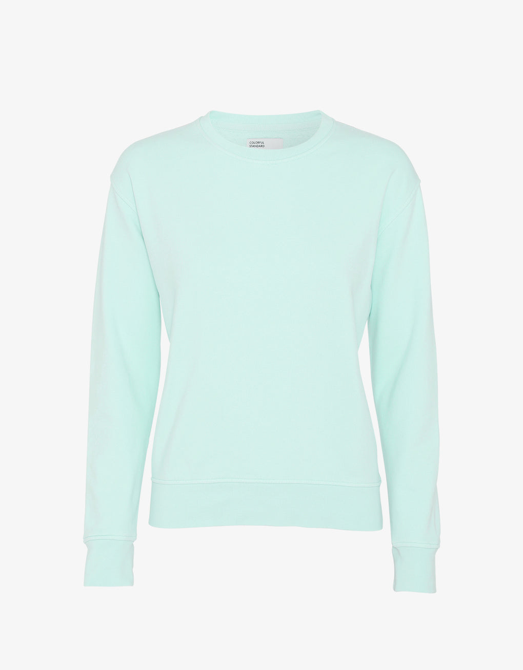Colorful Standard Women Classic Organic Crew Women Crewneck Light Aqua