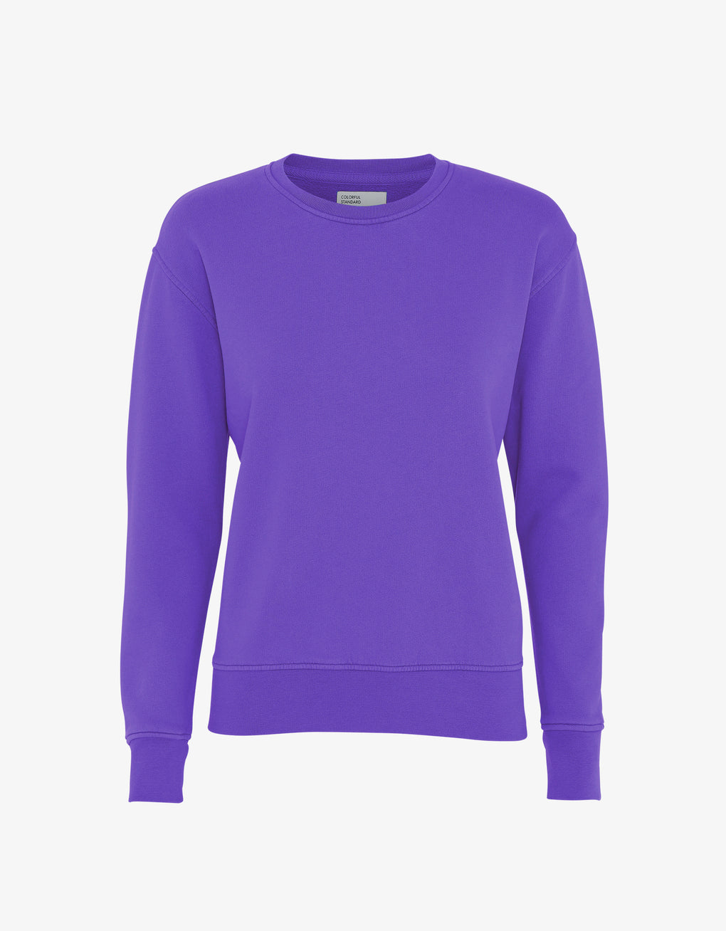 Colorful Standard Women Classic Organic Crew Women Crewneck Ultra Violet