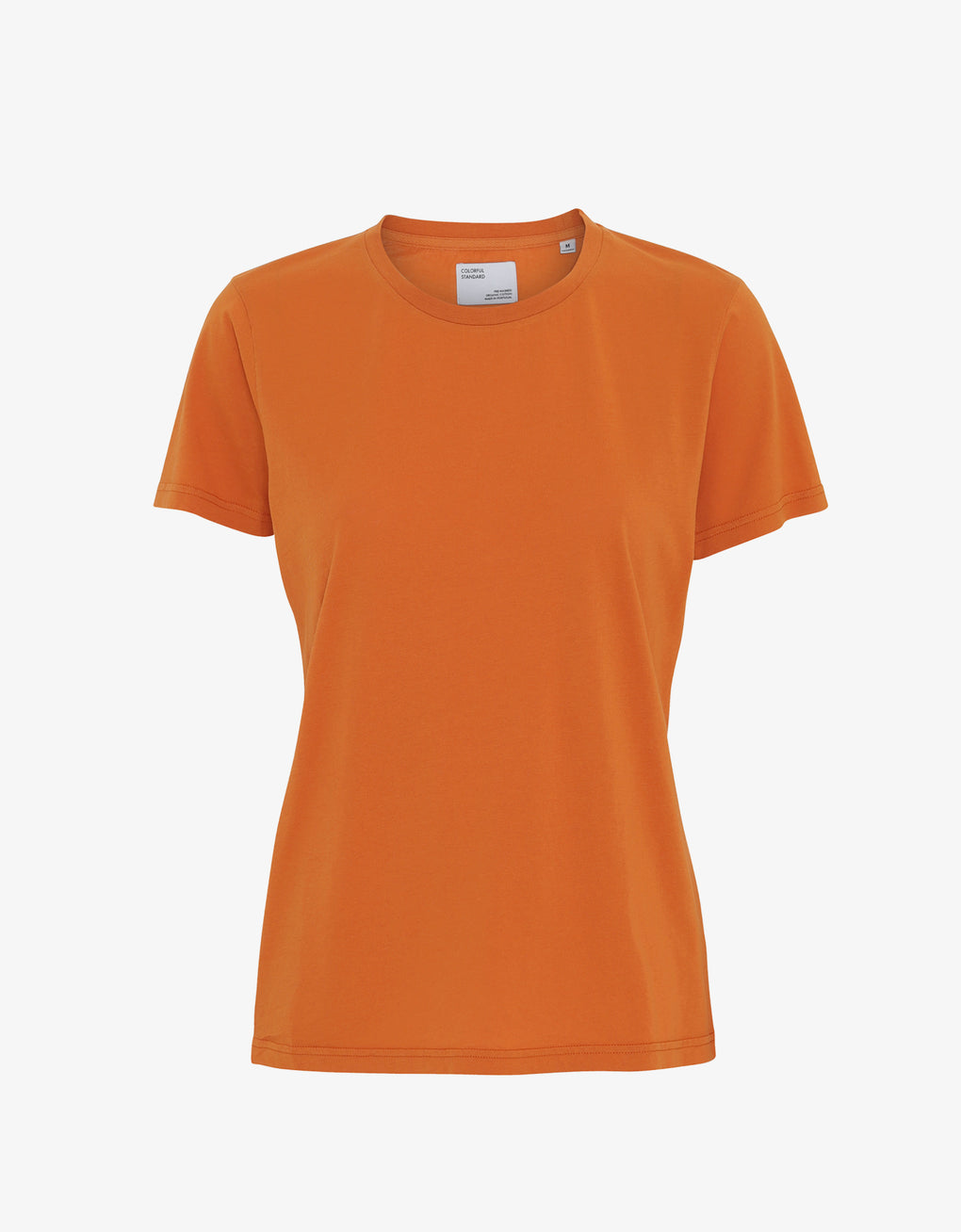Colorful Standard Women Light Organic Tee Women T-shirt Burned Orange