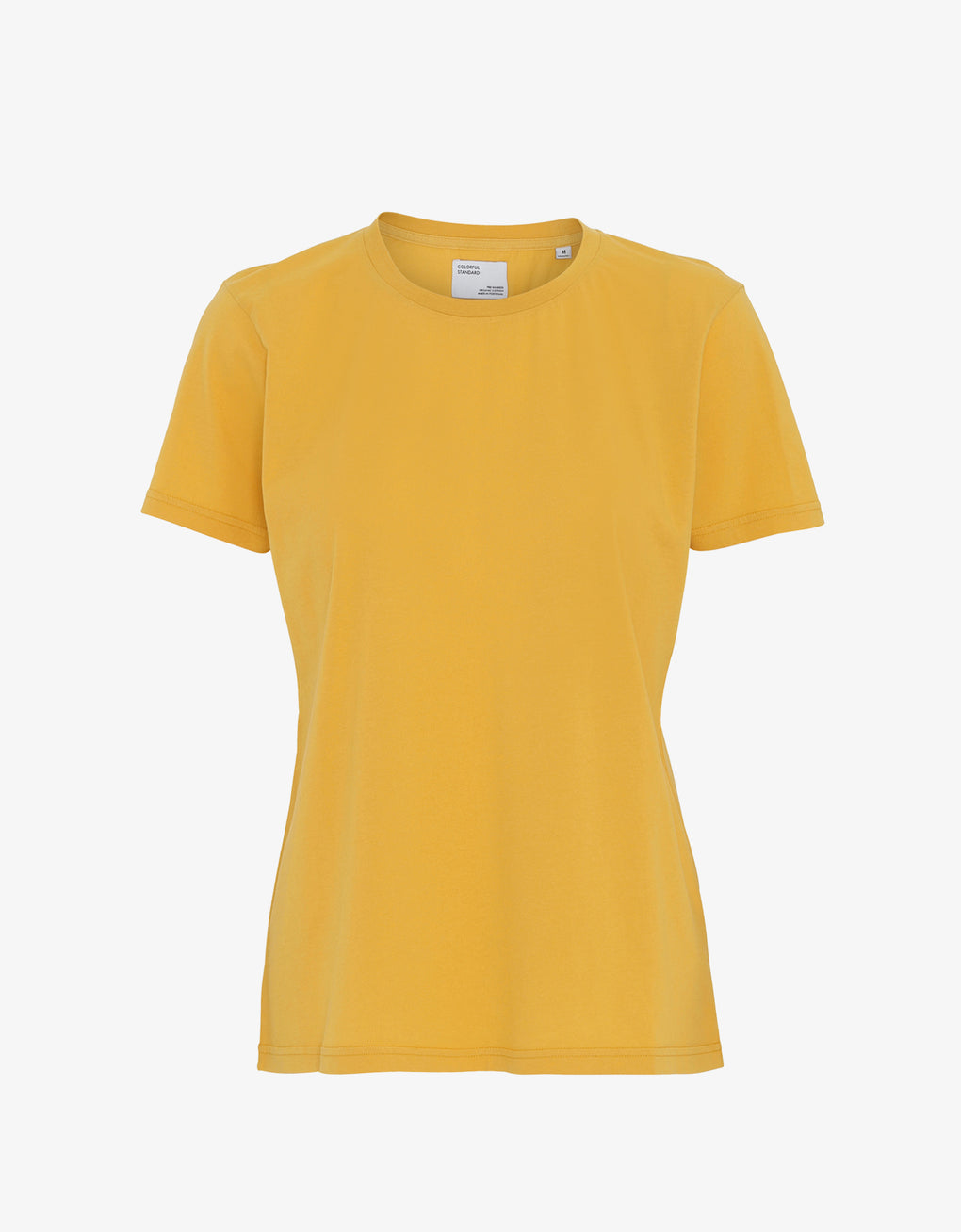 Colorful Standard Women Light Organic Tee Women T-shirt Burned Yellow