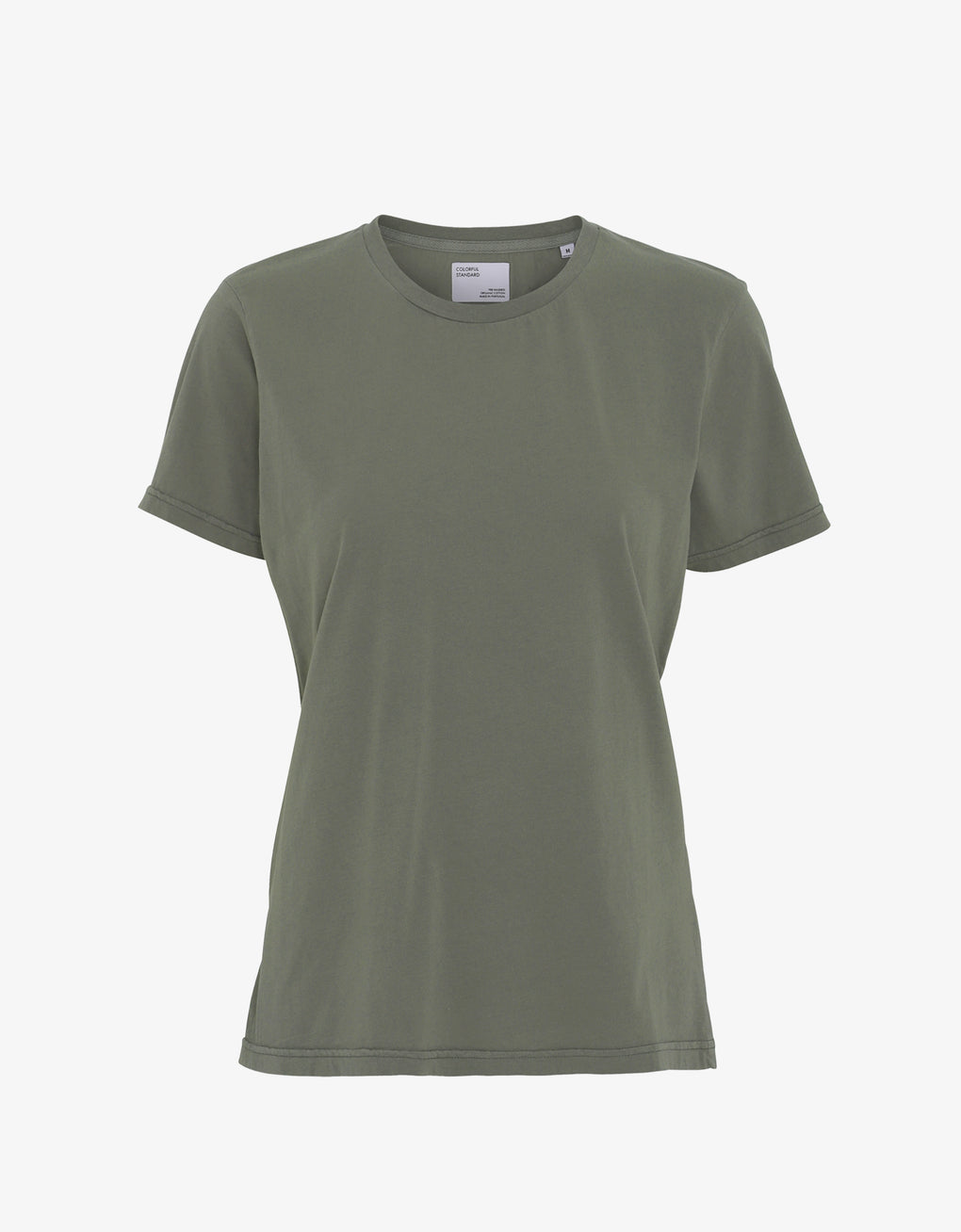 Colorful Standard Women Light Organic Tee Women T-shirt Dusty Olive