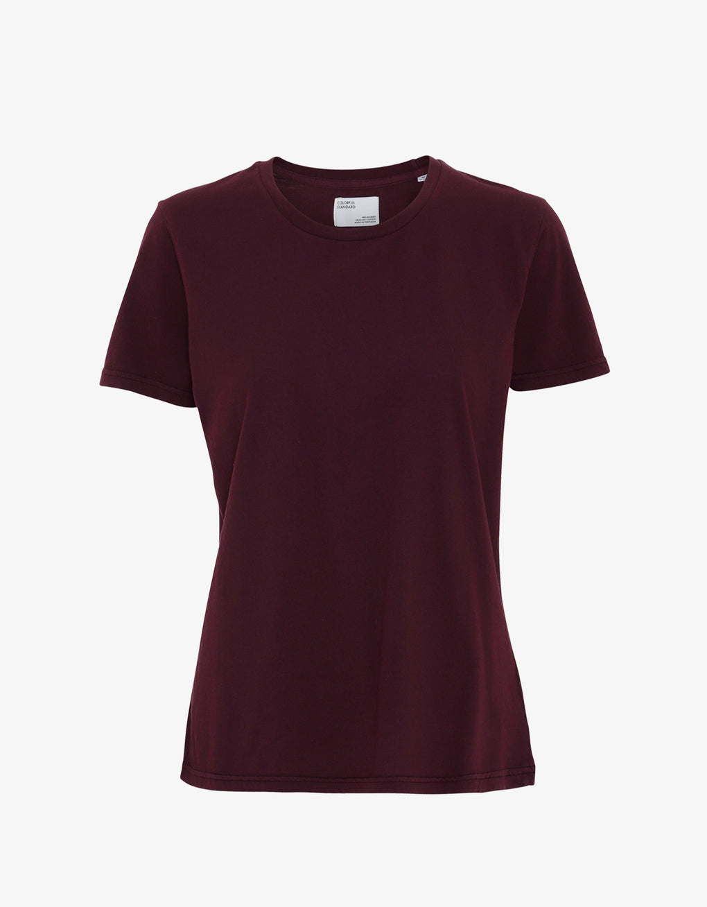 Colorful Standard Women Light Organic Tee Women T-shirt Oxblood Red