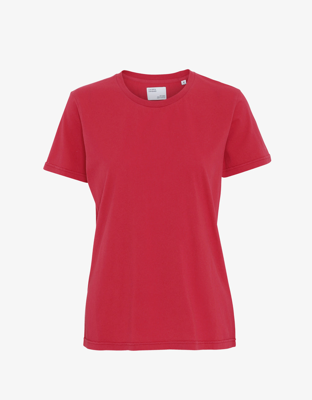Colorful Standard Women Light Organic Tee Women T-shirt Scarlet Red