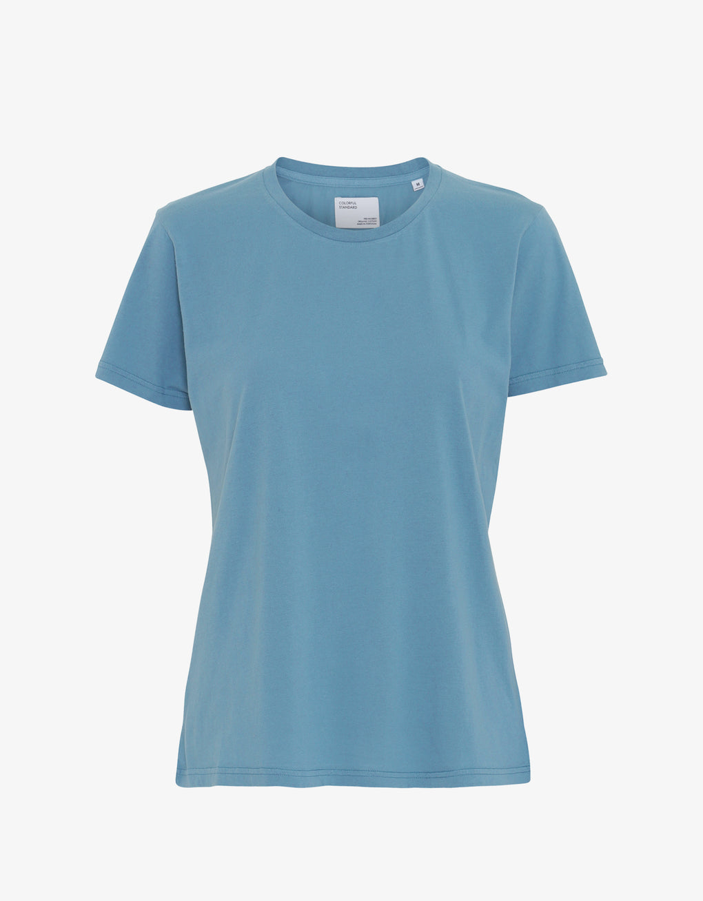 Colorful Standard Women Light Organic Tee Women T-shirt Stone Blue
