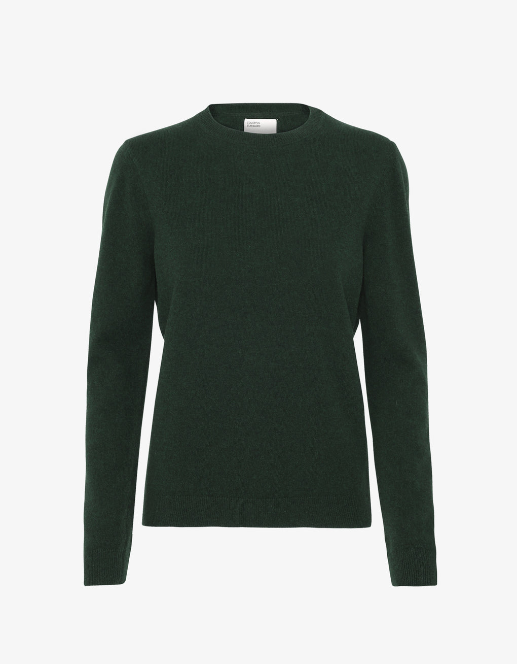 Colorful Standard Women Merino Wool Crew Women Merino Crewneck Hunter Green