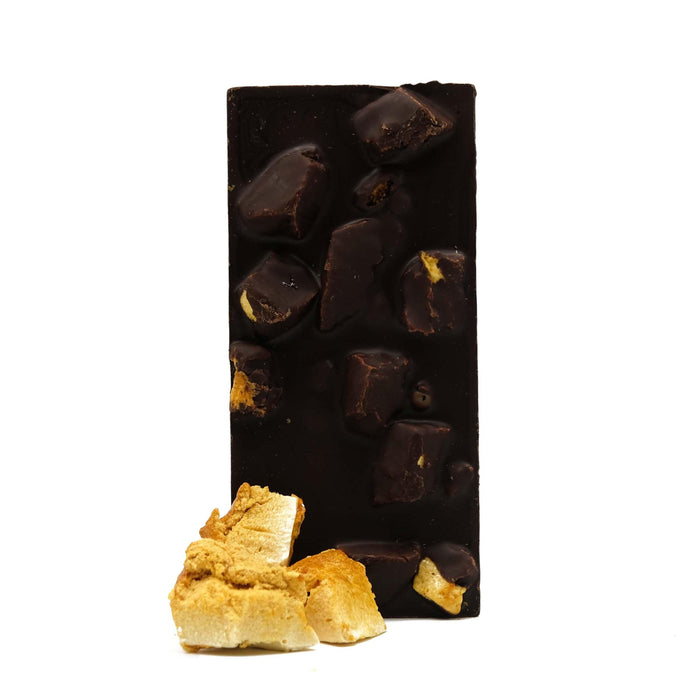 Three Chocolatiers Dark Chocolate Hunter Valley Honeycomb Chocolate Bar