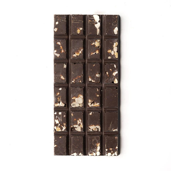 Dark Chocolate Smashed Hazelnut Bar