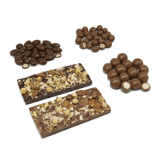 Three Chocolatiers Nutlovers Chocolate Bundle