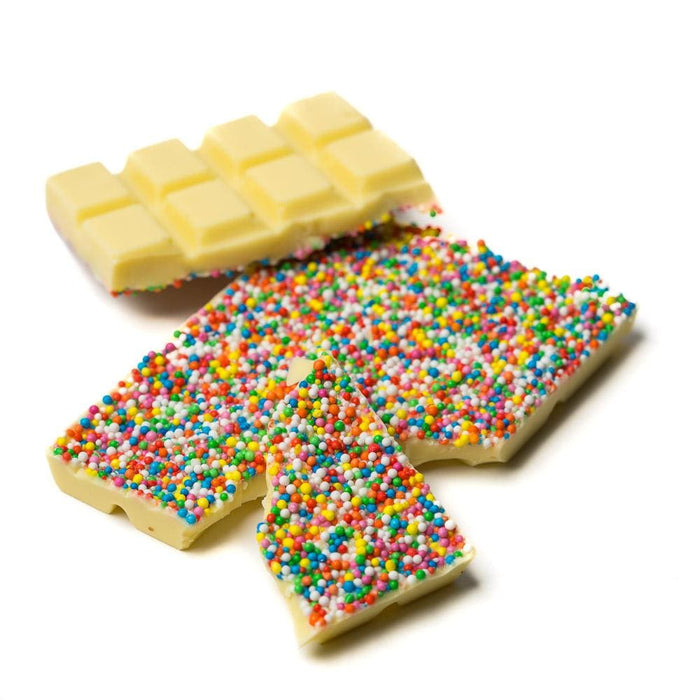 White Chocolate Fun Filled Speckles Bar