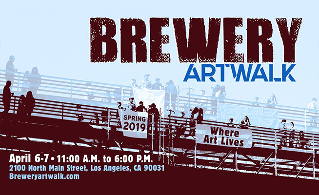 The Spring 2019 Brewery Artwalk And Open Studios