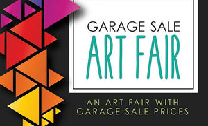 The 24th Annual Garage Sale Art Fair