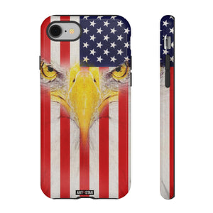 American Flag Eagle Vintage Tough Phone Case