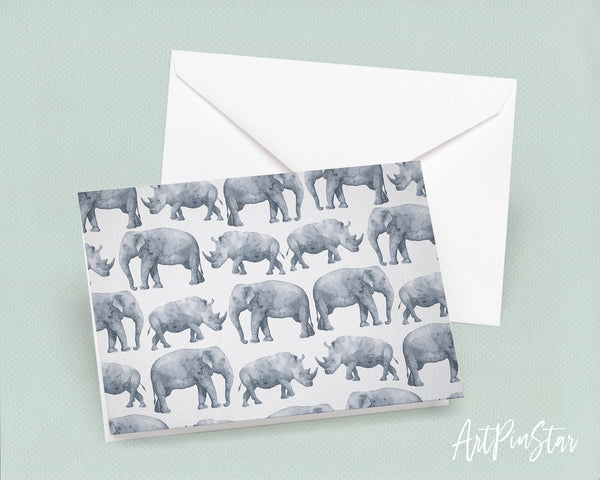 Safari Elephant Animal Greeting Cards