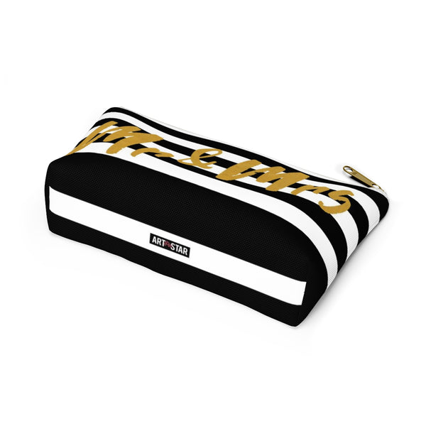 Mr. & Mrs. Accessory Pouch w T-bottom