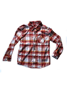 Sonoma Life + Style Boys Flannel Shirt 5T