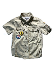 OshKosh Mud Scout Adventure Camp Shirts 4T