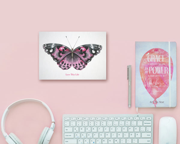 Love This Life Butterfly Animal Greeting Cards