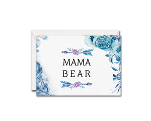 Mama Bear Mother's Day Occasion Greeting Cards
