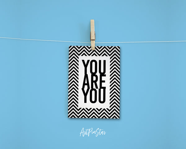 You Are You Life Quote Customized Greeting Cards