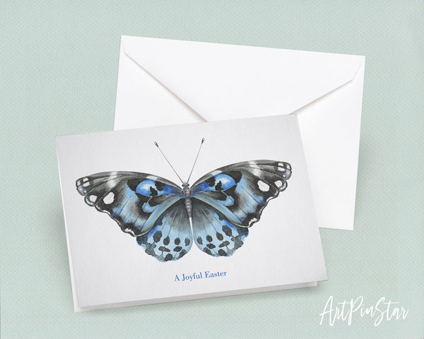 A joyful Easter Butterfly Animal Greeting Cards