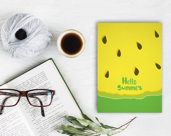 Hello Summer Food Customized Gift Cards