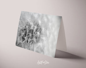 Dandelion Flower Photo Art Customized Gift Cards