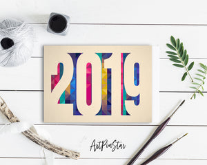 2019 New Year Customized Greeting Card