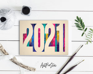 2021 New Year Customized Greeting Card