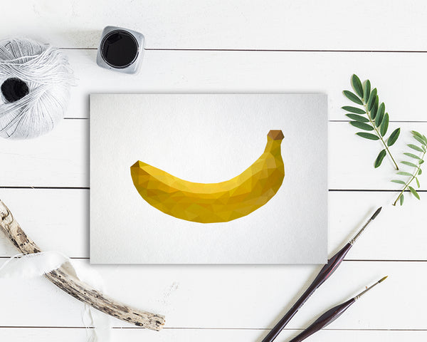 Banana Food Customized Gift Cards