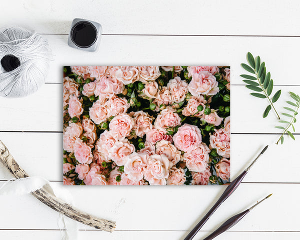 Rose Flower Photo Art Customized Gift Cards