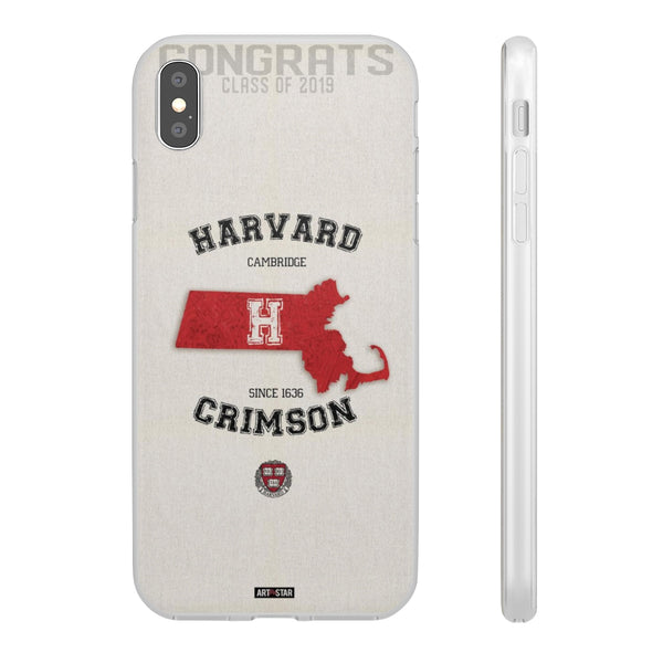Congrats Graduation Harvard Crimson in Massachusetts Phone Cases