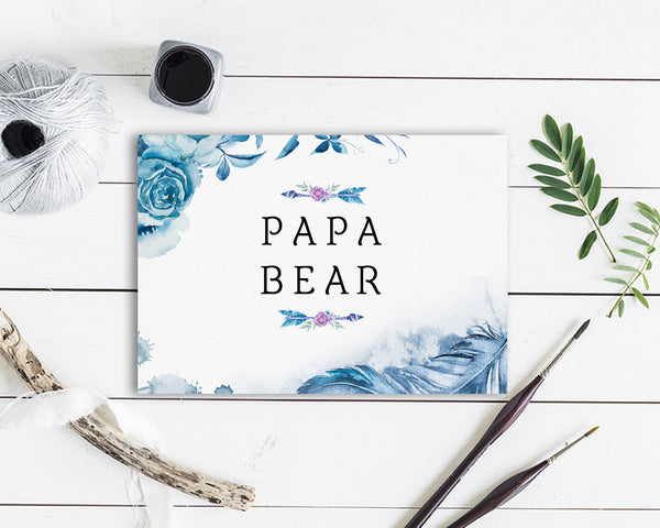 Papa Bear Father's Day Occasion Greeting Cards