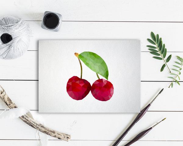 Cherry Food Customized Gift Cards