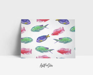 Colorful Fish Animal Greeting Cards